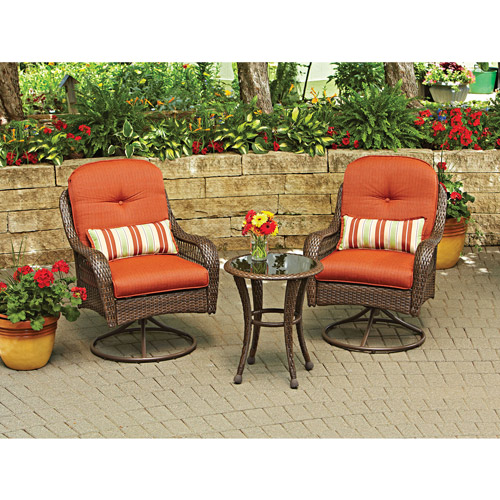 NEW Better Homes and Gardens Azalea Ridge 3 Piece Outdoor Bistro Set Seats 2