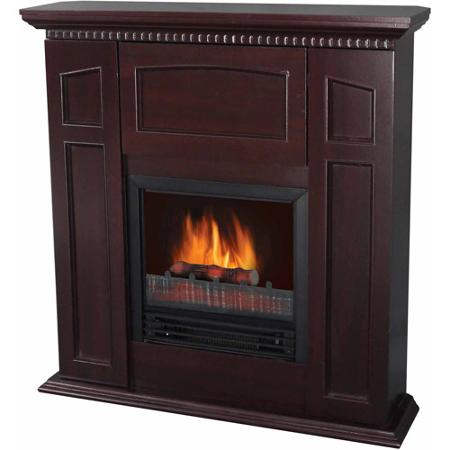 Electric Fireplace With 36 Mantle And Storage Chestnut Electric Fireplace With 36 Mantle