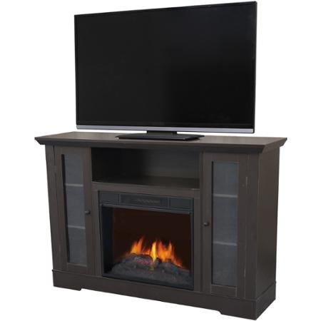 Decor flame media electric fireplace for tvs up to 65 for Decor flame electric fireplace