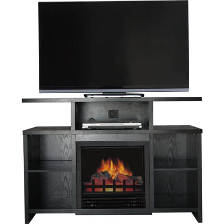 Decor Flame Media Electric Fireplace For TVs Up To 50